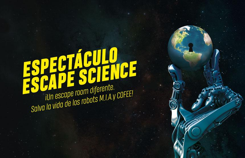 Escape science CosmoCaixa